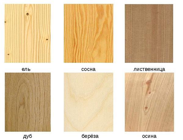 породы дерева для калитки