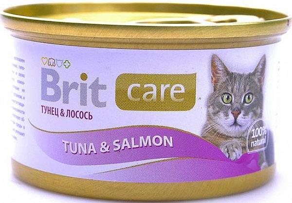 влажный корм Брит для кошек