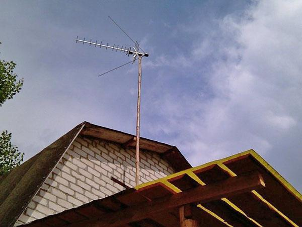 крепление антенны