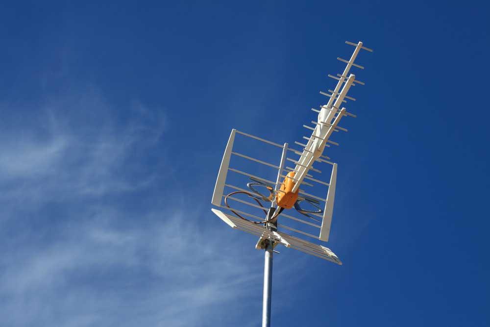 антенна на дачу