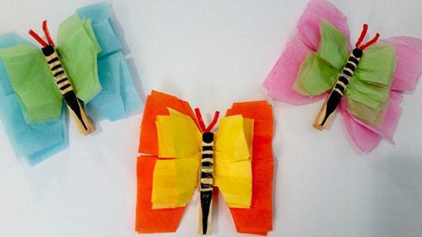 бабочки в детскую комнату