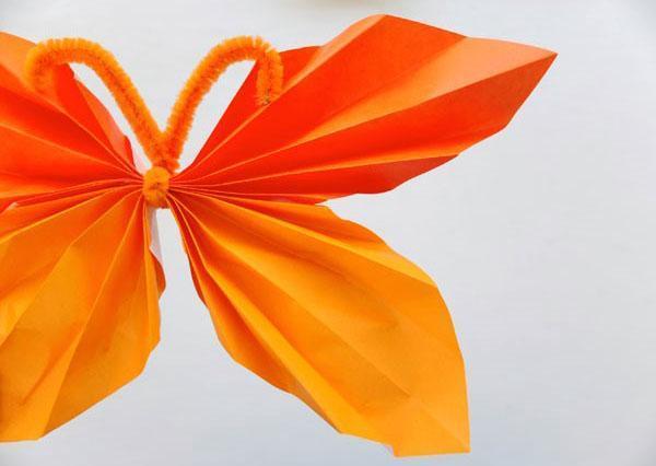 расправляем крылья бабочки
