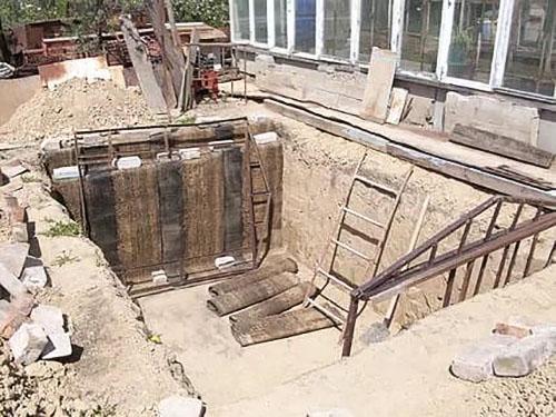 подготовка котлована для бассейна