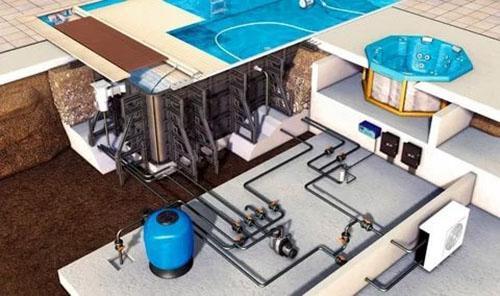 система водообеспечения бассейна