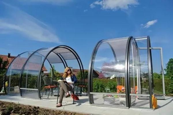 Беседки из поликарбоната для дачи своими руками, каркас из металла, видео