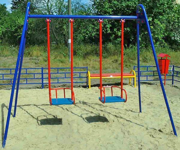 правильная установка детской площадки