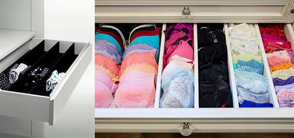 ящики для нижнего белья