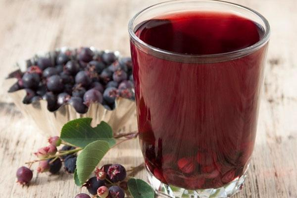 напиток из ягод ирги