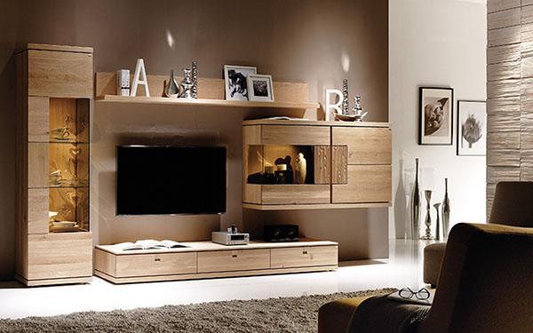 полки с мебелью