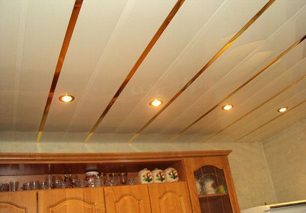 потолочные панели в дизайне дома