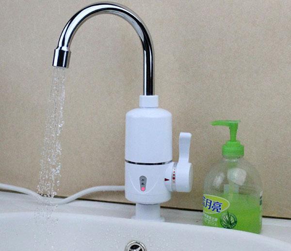 безнапорный проточный водонагреватель