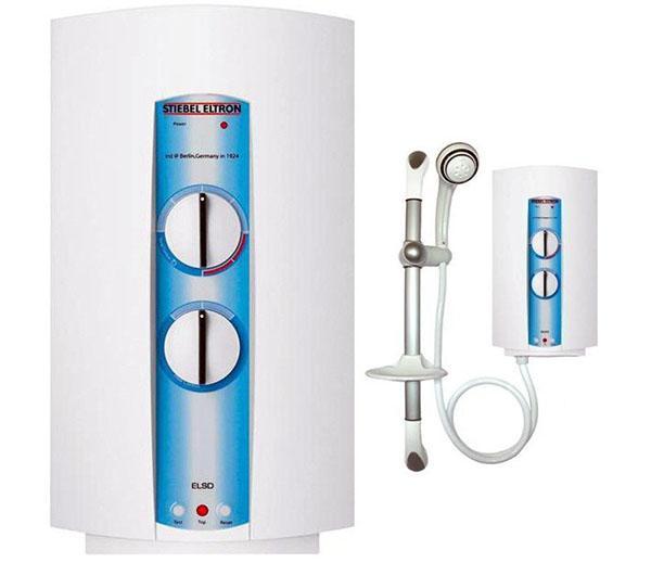 электрический проточный водонагреватель для душа