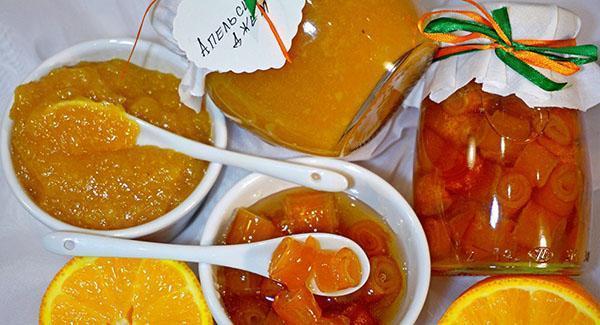 ароматный апельсиновый джем