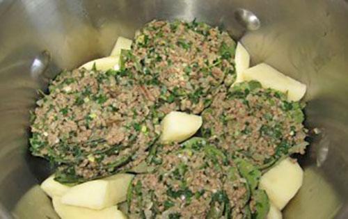 готовим артишоки с картошкой в скороварке