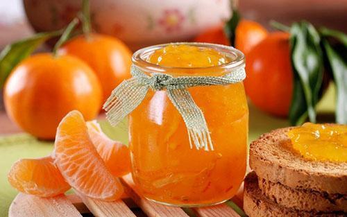 употребляем джем из мандаринов в умеренных количествах