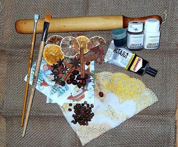 элементы декора для соленого теста