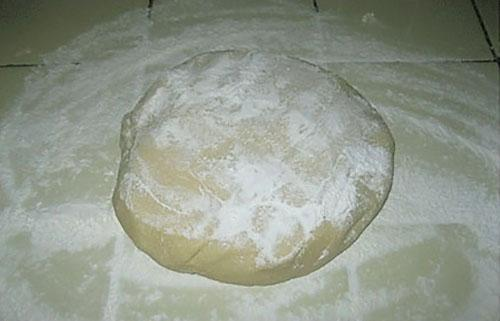 соленое тесто готово