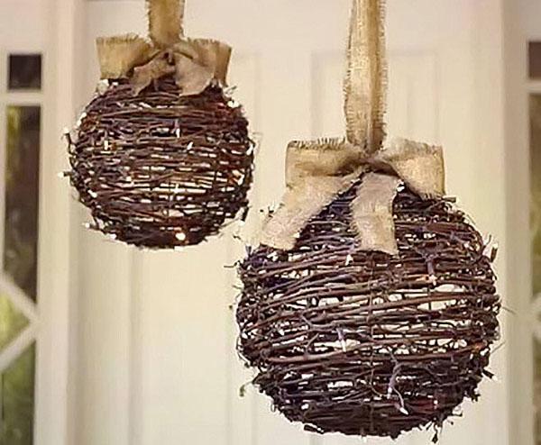 шары из прутиков