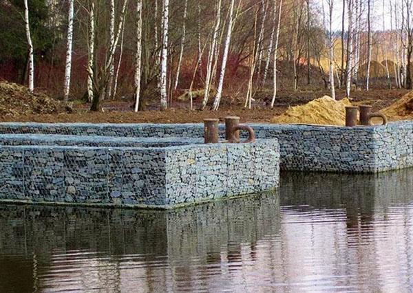 габионы для укрепления берегов