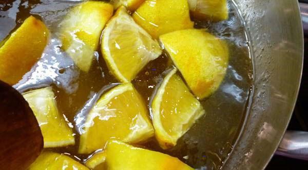 отварить апельсины