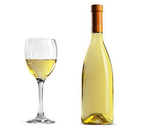 белое вино подогреть