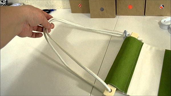 двойной шнур для крепления гамака