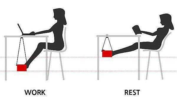 гамак для рабочей позиции и отдыха