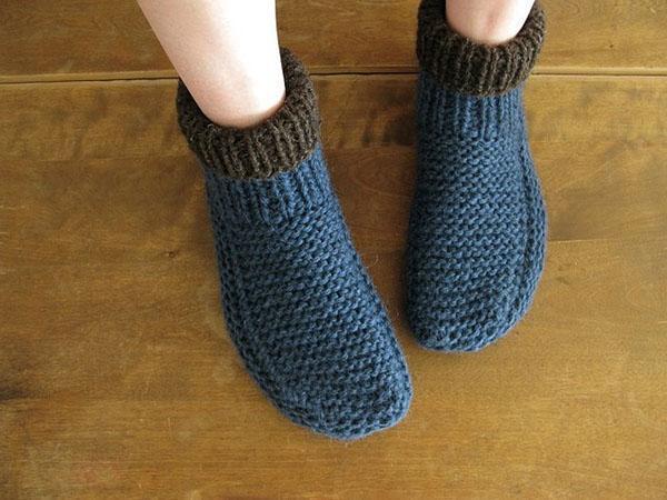 надеваем носки на ночь