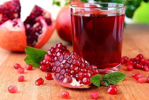 лечебный гранатовый сок