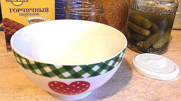 посуда для приготовления горчицы