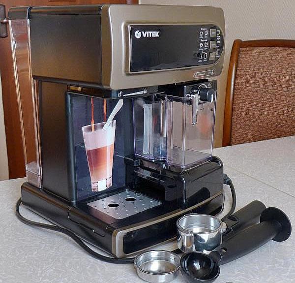 комплектация кофеварки