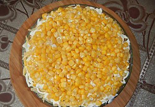 верхний слой кукуруза