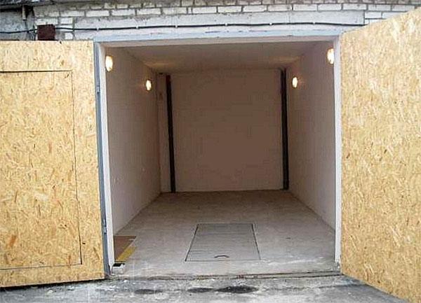 утепленные гаражные ворота