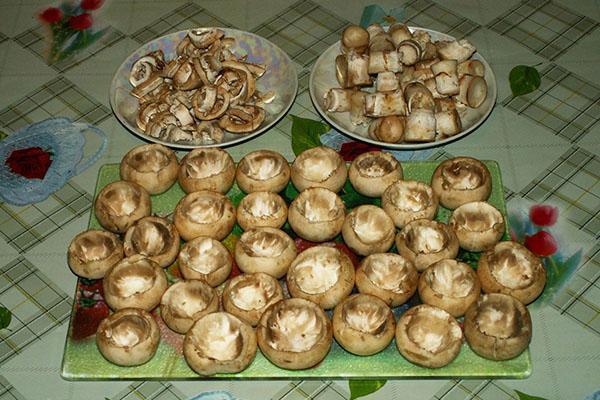 шляпки грибов для начинки