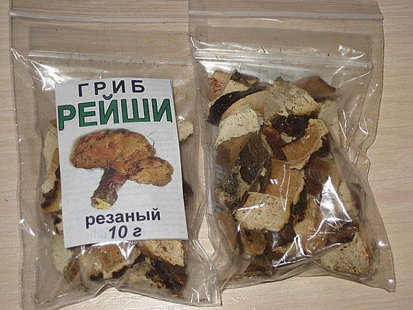 сухой гриб рейши