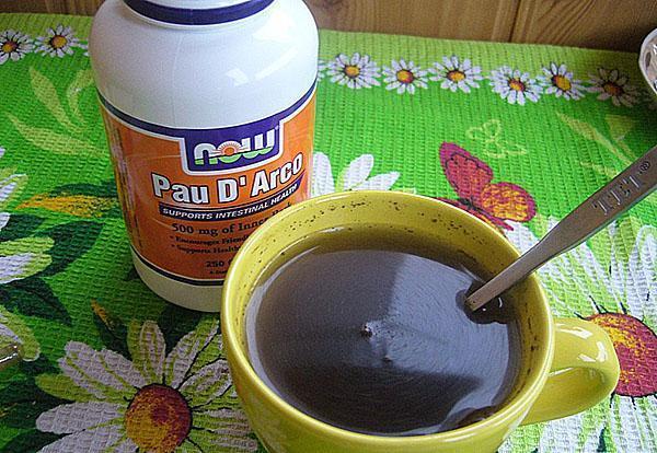 лечебный чай готов