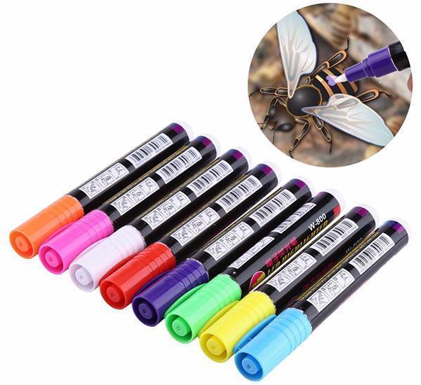 набор маркеров для метки пчел из китая