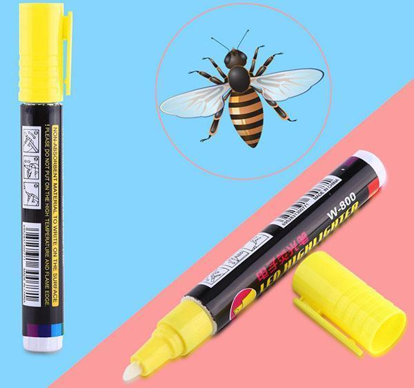 безопасный для пчел маркер