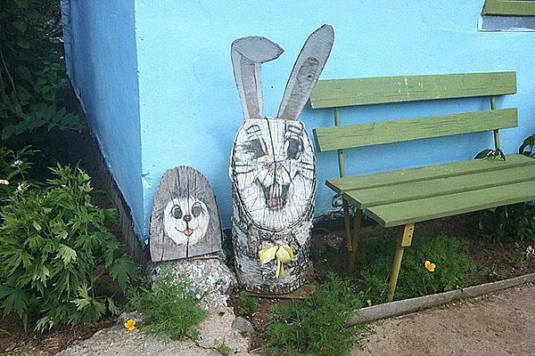 Заяц своими руками с сад 36