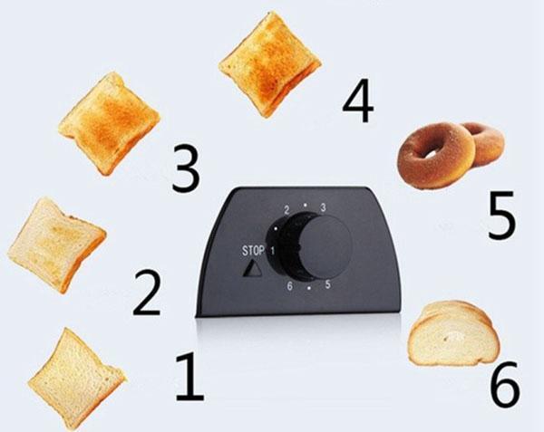 степень прожарки тостов
