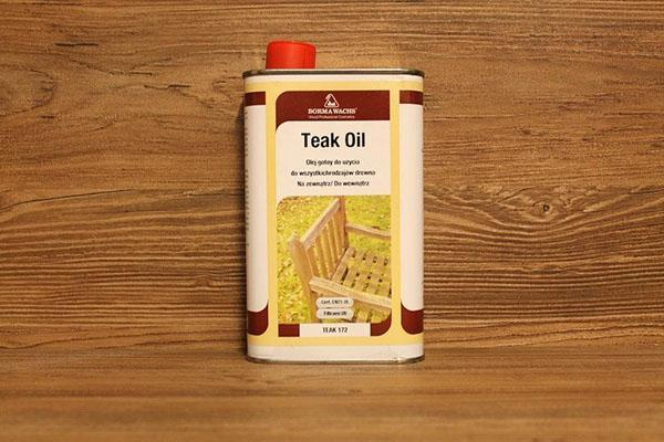 масло тикового дерева