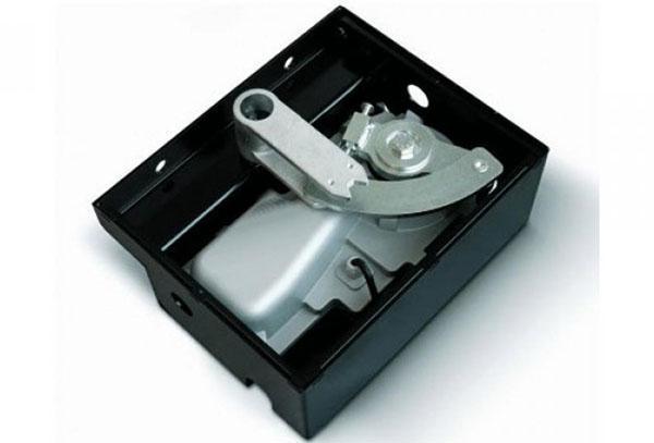 устройство подземного привода в защитном коробе
