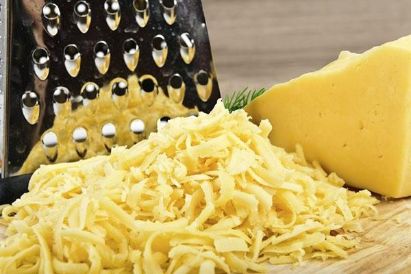 добавить натертый сыр
