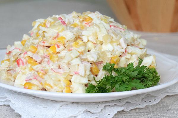 классический вариант салата