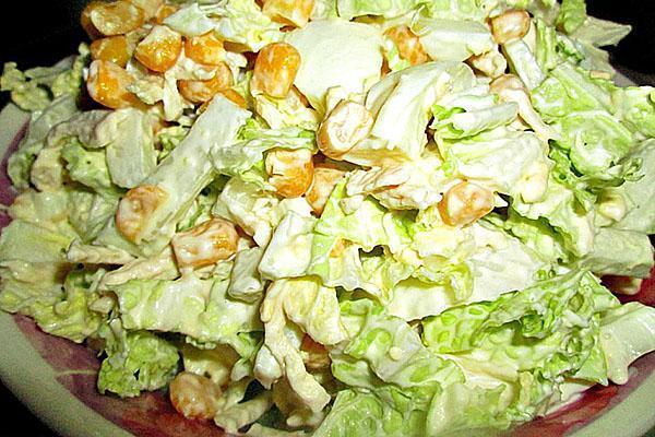 салат овощная горка