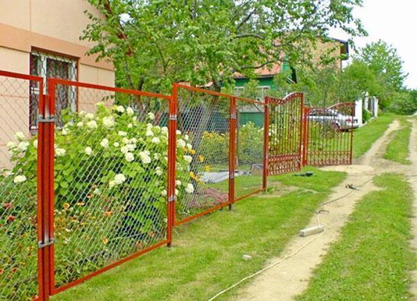 сборно-секционный забор