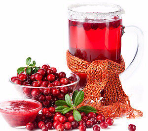 лечебный напиток из клюквы
