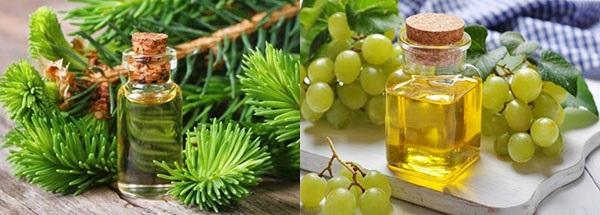 масло кедра и виноградной косточки