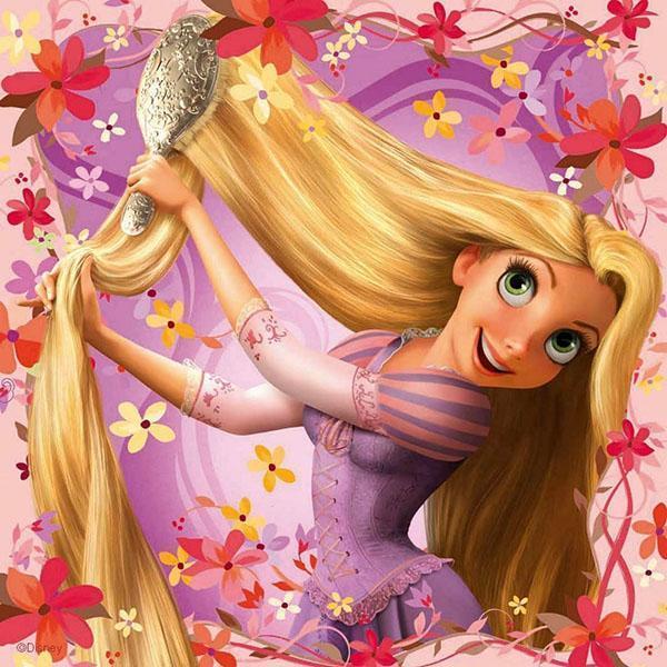 прекрасные волосы Рапунцель