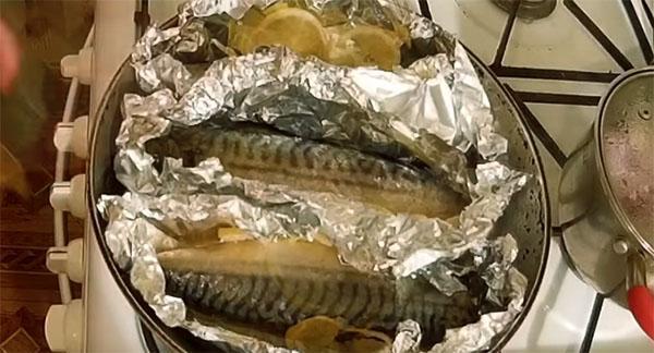 запечь рыбу в фольге